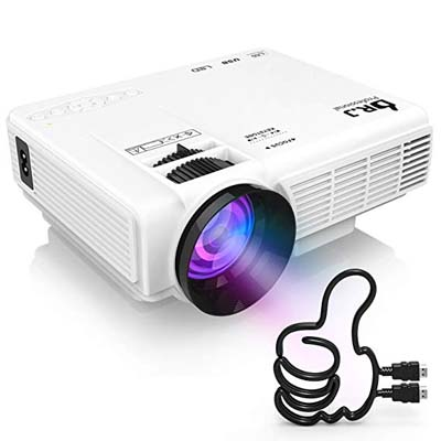 1. DR. J Professional Mini Projector HI-04