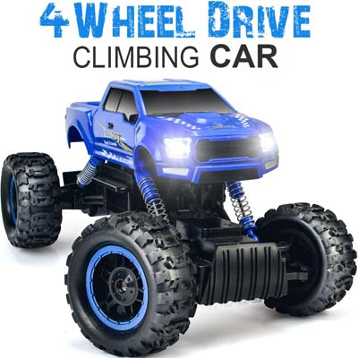 3. DOUBLE E RC Cars Monster Truck
