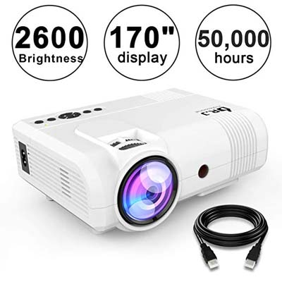 7. DR. J Professional Mini Projector L8