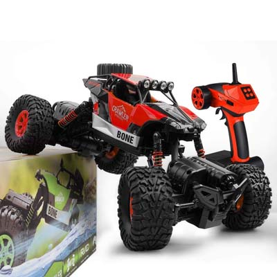 8. Gizmovine RC Car Rock Crawler Vehicle