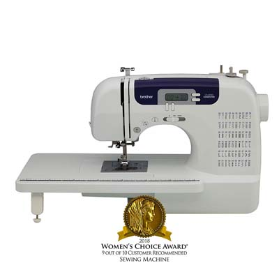 1. Brother Sewing and Quilting Machine