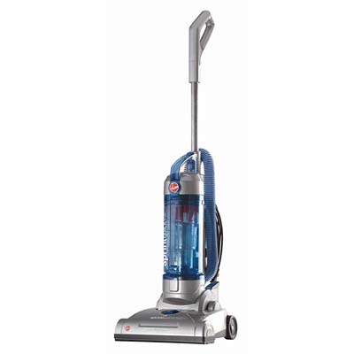 4. Hoover Sprint Upright Vacuum Cleaner, Blue