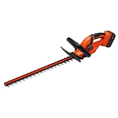 1. BLACK+DECKER Hedge Trimmer, LHT2436