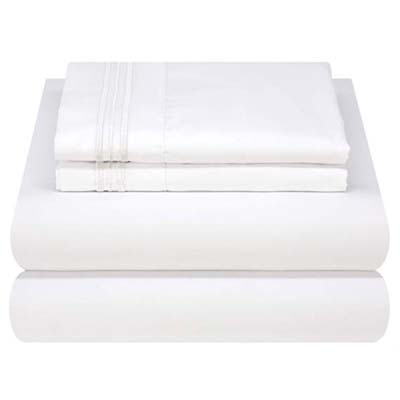 2. Mezzati Luxury Bed Sheet