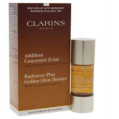 Clarins 0.5 Ounce Radiance-Plus Self Tanning Fluid