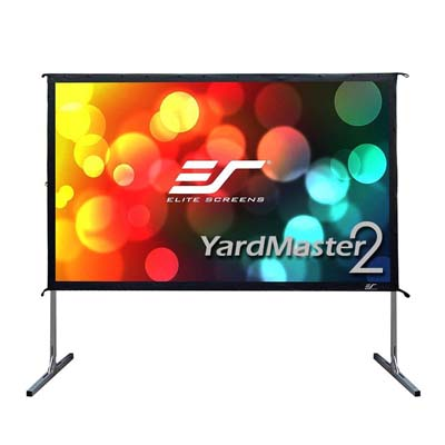 1. Elite Screens Projector Screen with Stand, Yard Master 2