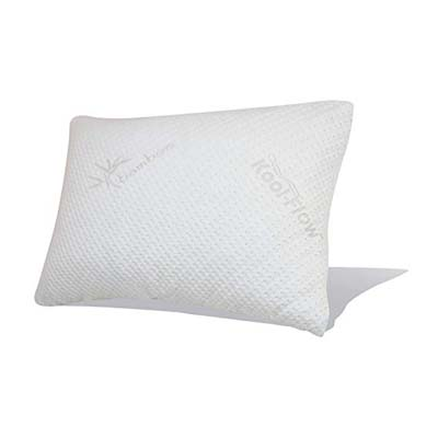 2. Snuggle-Pedic Original Combination Pillow (no zippers)