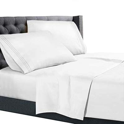 1. Nestl Bedding 4-Piece Sheet Set