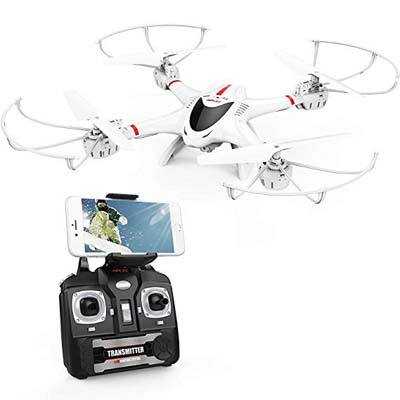 3. DBPOWER RC Quadcopter Drone, X400W