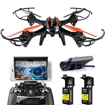9. DBPOWER Predator RC Quadcopter Drone, U842