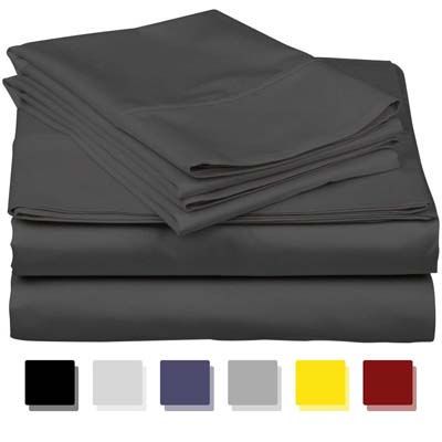 3. Thread Spread Egyptian Cotton Bed Sheets