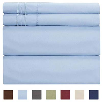 4. CGK Unlimited Queen Size Sheet Set