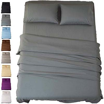7. Sonoro Kate 1800 Thread Count Egyptian Sheets