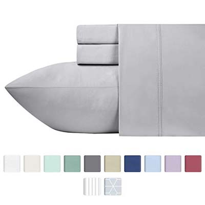 8. California Design Den 600 Thread Count Bed Sheets