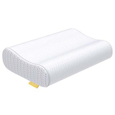 6. UTTU Memory Foam Sandwich Pillow
