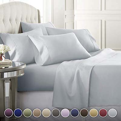 6. Danjor Linens Premium Bed Sheets Set