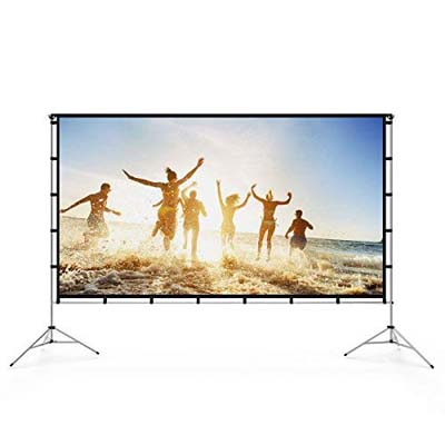 9. Vamvo Projector Screen