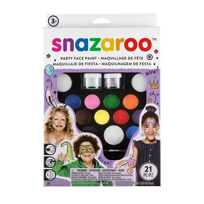 1. Snazaroo Face Paint Pack