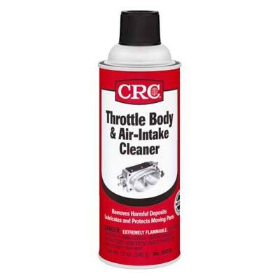 3. CRC Throttle Body and Air-Intake Cleaner 05078