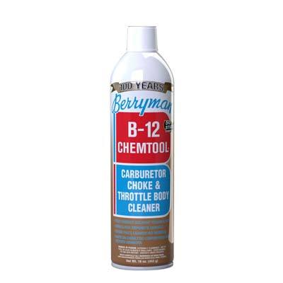 9. Berryman Products Choke and Throttle Body Cleaner 0117C B-12