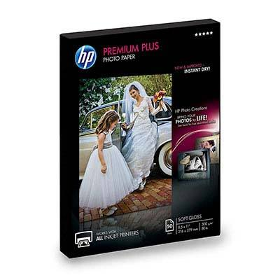 6. HP Soft Gloss Photo Paper Premium Plus