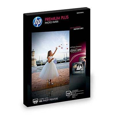4. HP Glossy Photo Paper Premium Plus ((4x6 inch, 100 sheets)