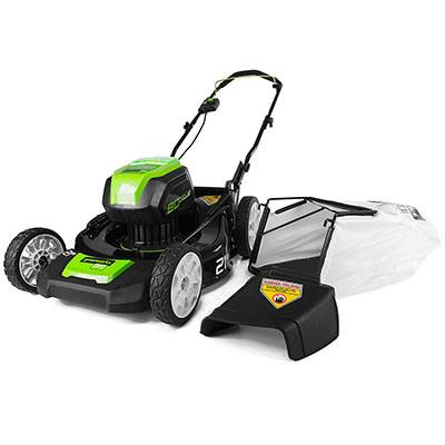 7. Greenworks Pro 80V 21-Inch Cordless Lawn Mower, GLM801600