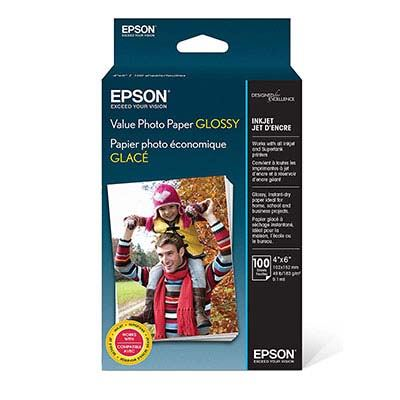 3. Epson Value Photo Paper, Glossy