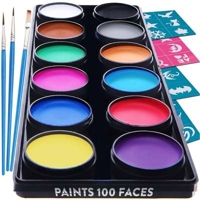 2. Face Paint Kit By Blue Squid