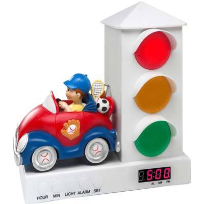 2. Stoplight Sleep Alarm Clock For Kids