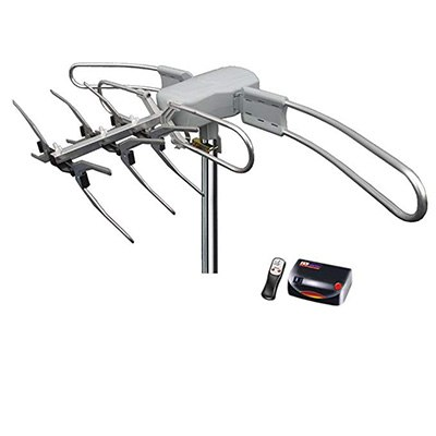6. 1byone Amplified Outdoor Digital HDTV Antenna