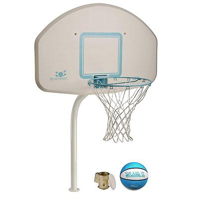 5. Dunnrite DeckShoot Pool Basketball Hoop (DMB200BR Stainless)