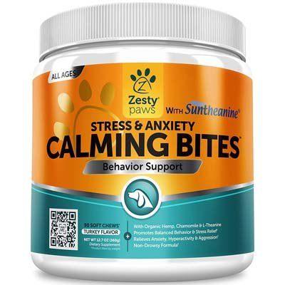 1. Zesty Paws Calming Aid for Dogs