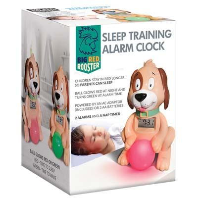 4. Big Red Rooster Sleep Training Alarm Clock