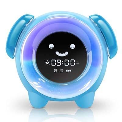 9. KNGUVTH Alarm Clock for Kids