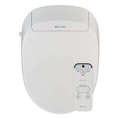 7. Brondell Inc. S300-EW Swash Advanced Bidet Toilet Seat