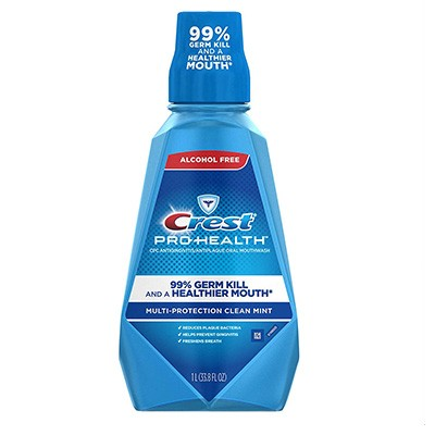 6. Crest Pro-Health Multi-Protection Refreshing Mouthwash