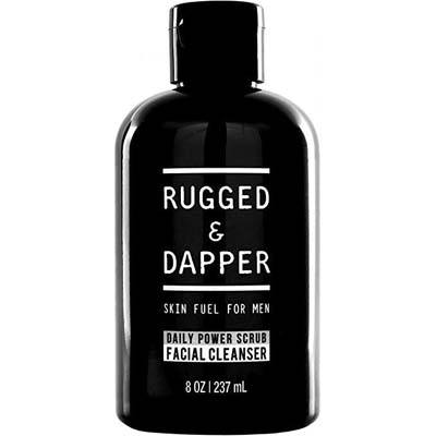 6. Rugged and Dapper Face Wash for Men