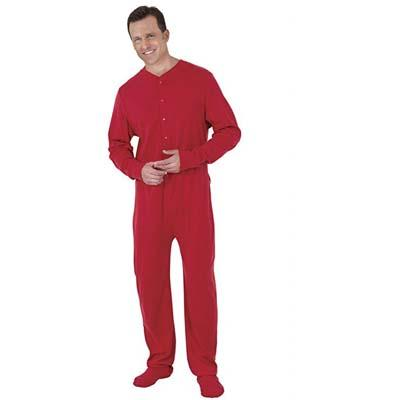 1. PajamaGram Mens Onesie Pajamas Cotton