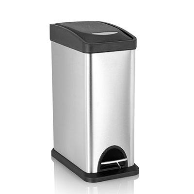 7. Fortune Candy Step Trash Can (0.8+1.3+8 Gallon)