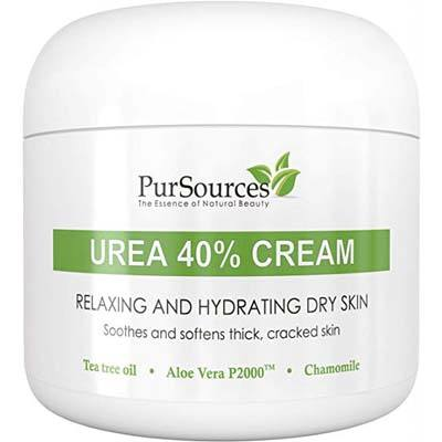 4. PurSources Urea 40% Foot Cream 4 oz