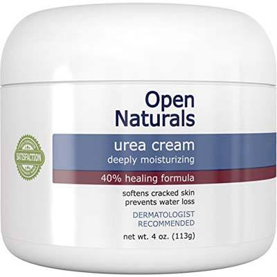 6. Open Naturals Urea 40% Foot Cream - 4 oz