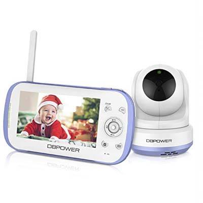 4. DBPOWER Video Baby Monitor