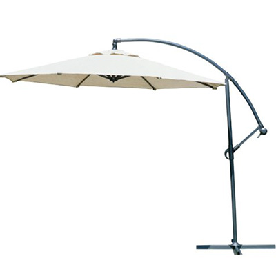 5. Gale Pacific Coolaro Freestanding Patio Shade Umbrella - Smoke