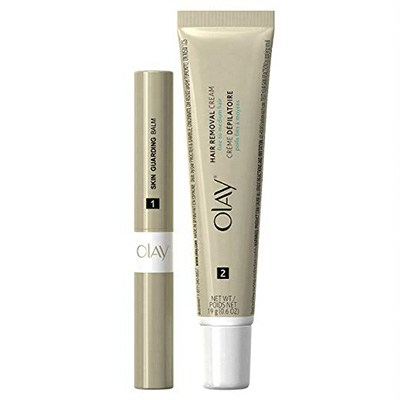 9. Olay Facial Hair Removal Kit, Smooth Finish
