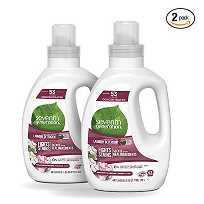 1. Seventh Generation Concentrated Laundry Detergent