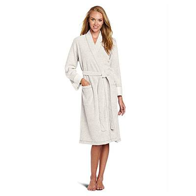 10. N Natori Nirvana Brushed Terry Bathrobe for Women