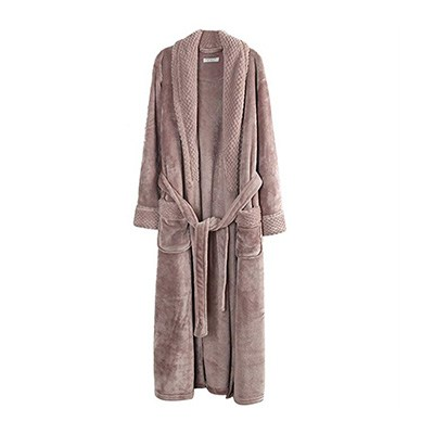 4. Richie House RH1591 Women's Plush Bathrobe Robe