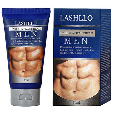 6. LASHLLO Hair Removal Cream for Men