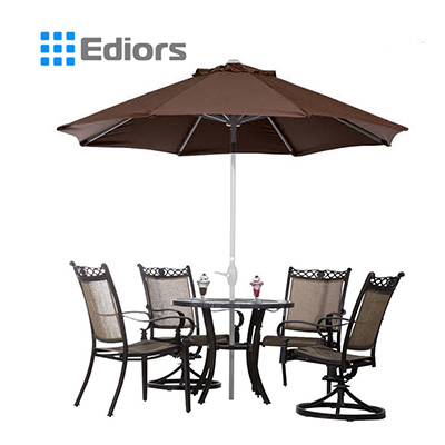 1. Ediors 9 Ft Freestanding Patio Umbrella